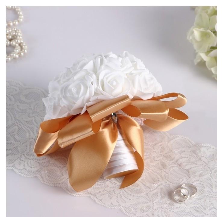 Букет-дублер для невесты из латексных цветков  NNB