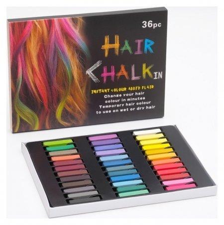 Мелки для волос 36 цветов  NNB