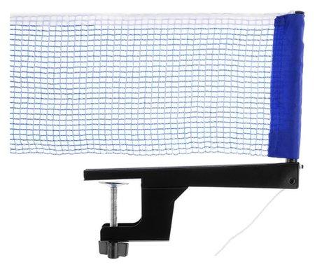 Сетка для настольного тенниса, с крепежом, 181 х 14 см, нить 1 мм, цвет синий  NNB