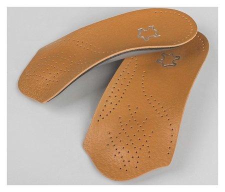 Полустельки для обуви, амортизирующие, дышащие, 35-36 р-р, пара, цвет коричневый NNB