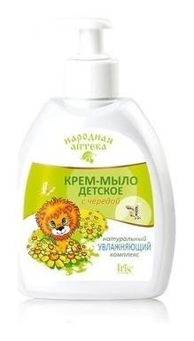 Крем-мыло детское с чередой  IRIS cosmetic