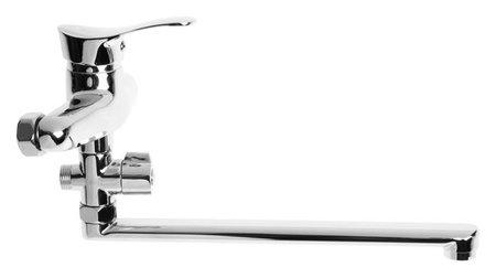 Смеситель для ванны RMS Sl86-006, однорычажный, излив 27 см, настенный, хром  NNB