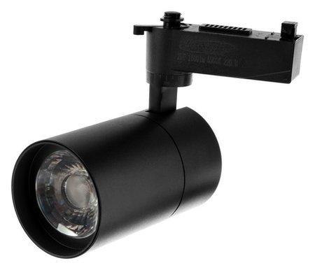 Трековый светильник Luazon Tsl-103, 24 Deg, 20 W, 1600 Lm, 6500k, холодн. бел., корпус черн.  NNB