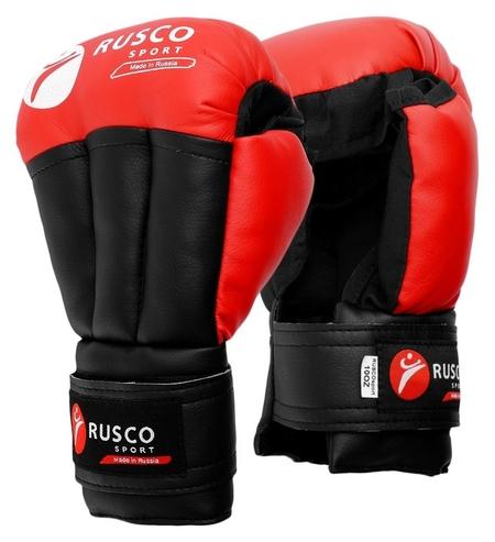 Перчатки для рукопашного боя Rusco Sport 6 OZ цвет красный Rusco sport