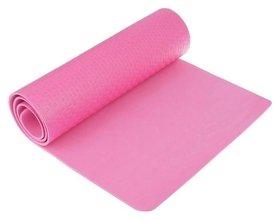 Коврик для йоги 183 х 61 х 0,7 см, цвет розовый