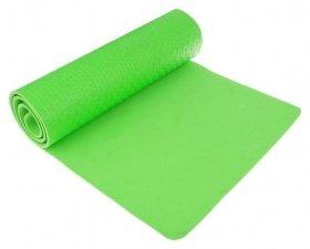 Коврик для йоги 183 х 61 х 0,7 см, цвет зеленый