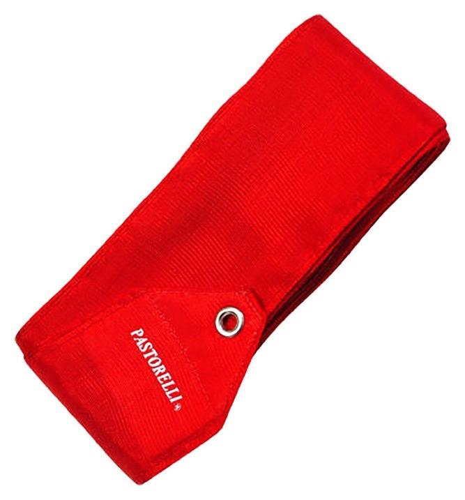 Лента гимнастическая Pastorelli одноцветная, 6 м, Fig, цвет красный  Pastorelli