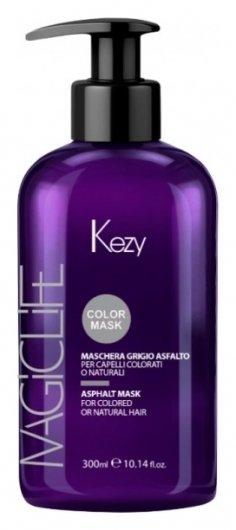 Маска Асфальт для окрашенных или натуральных волос Magic Life Asphalt Mask  Kezy