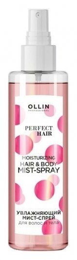 Увлажняющий мист-спрей для волос и тела Moisturizing Hair Body Mist Spray   OLLIN Professional