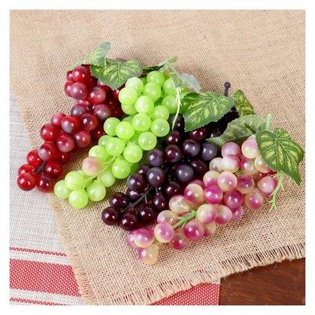 Искусственный виноград, круглые ягоды (36 ягод)  NNB