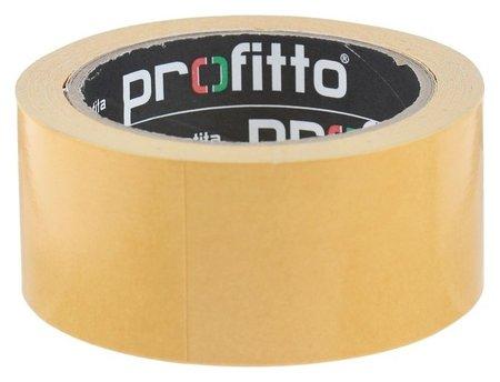 Клейкая лента двухсторонняя 48ммх 20м Profitto РР 55716/36  Profitto