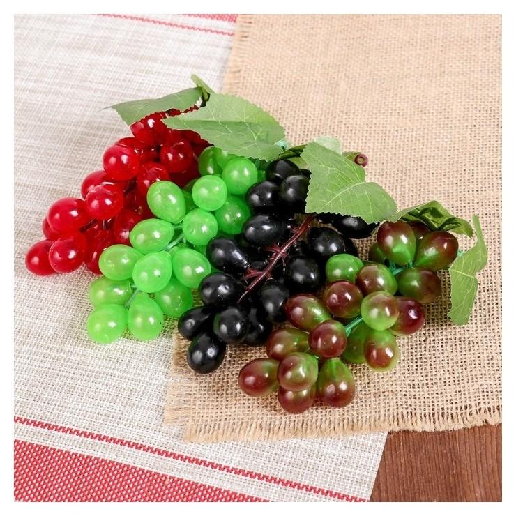 Искусственный виноград (24 ягоды, глянцевый.)  NNB