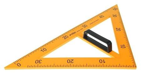 Треугольник для школьной доски, с держателем, прямоугольный, 45°  NNB