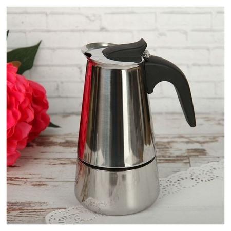 Кофеварка гейзерная «Стил», на 4 чашки  NNB