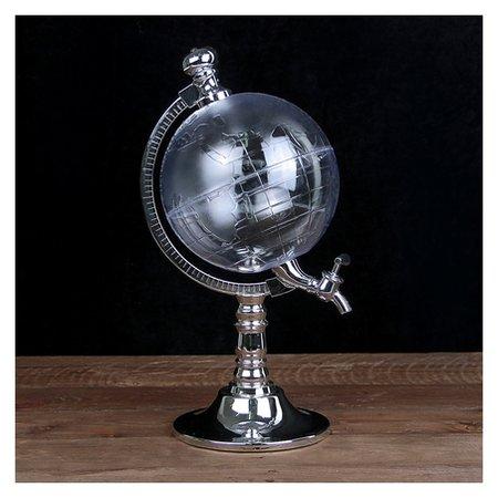 """Башня пивная 1,5 л """"Земной шар"""", воронка  NNB"""