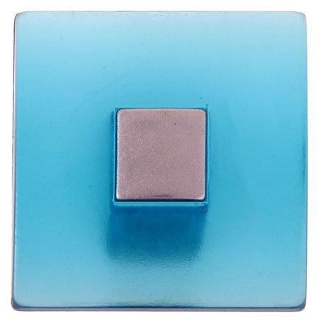 Ручка кнопка Plastic 003, пластиковая, синяя  NNB