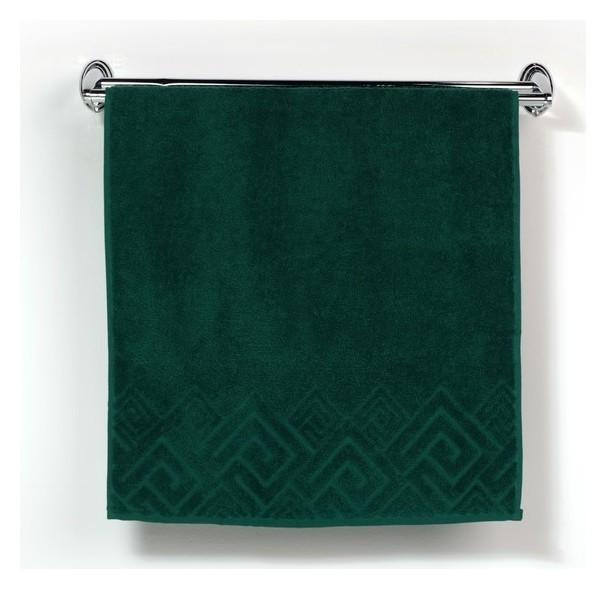 Полотенце махровое «Poseidon», 50х90, цвет зелёный  ДМ-люкс