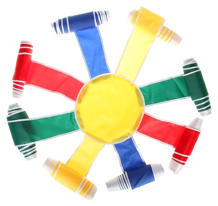 Спортивная игра «Солнышко», диаметр 5 м  NNB