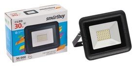 Прожектор светодиодный Smartbuy FL SMD Light, 30 Вт, 6500 К, 1600 Лм, Ip65, холодный белый  Smartbuy