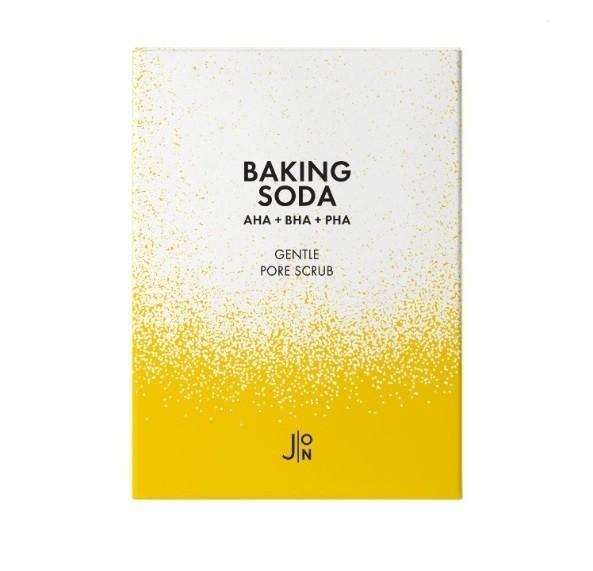 Скраб для лица с содой и кислотами Baking Soda Gentle Pore Scrub  J:ON