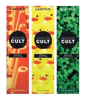 Крем-краситель с пигментами прямого действия Matrix Socolor Cult  Matrix