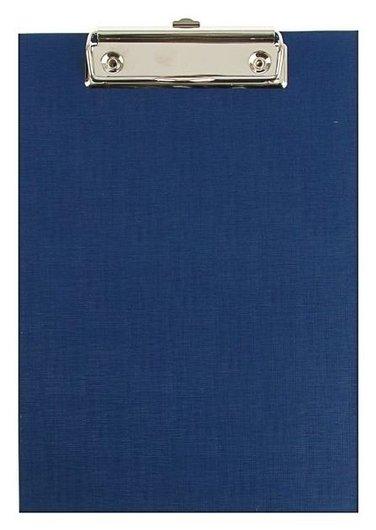 Планшет с зажимом А5 канцбург бумвинил, синий  Канцбург