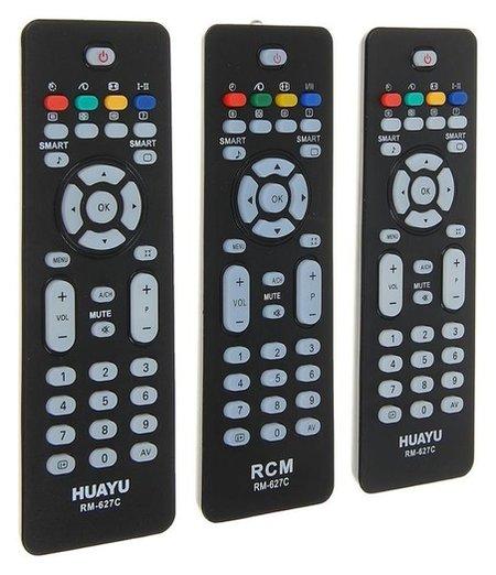 Пульт ДУ Huayu Rm-627с, для ТВ Philips, универсальный, черный  Huayu