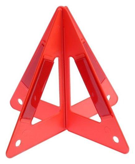Знак аварийной остановки 26 см, пирамида