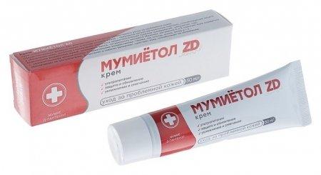 Крем для тела Мумиётол ZD с д-пантенолом  Зеленая дубрава