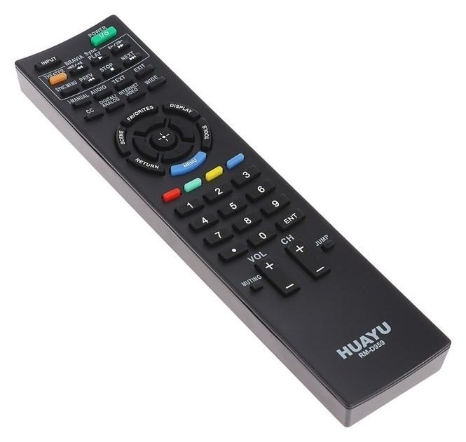 Пульт ДУ Huayu Rm-d959, для ТВ Sony, универсальный, черный  Huayu