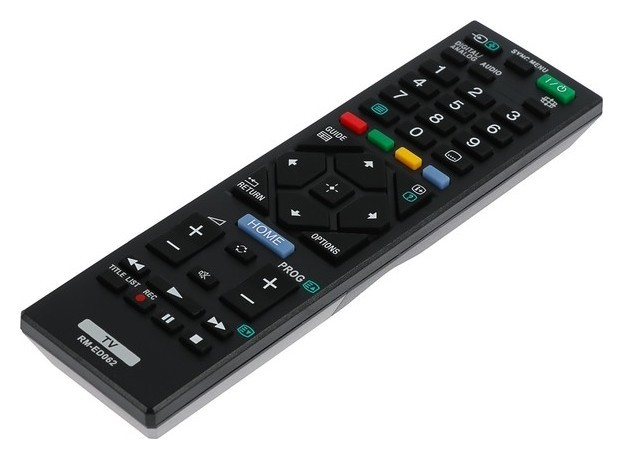 Пульт ДУ Huayu Rm-ed062, для ТВ Sony, универсальный, черный  Huayu