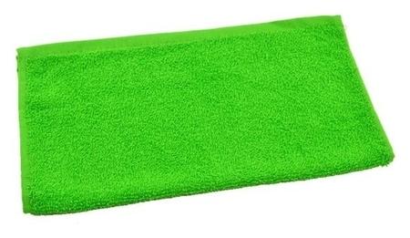 Полотенце махровое 30х50 см, салатовый, хлопок 100%, 360 г/м2  Текстиль центр