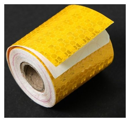 Светоотражающая лента Torso, самоклеящаяся, желтая, 5 см х 3 м  Torso