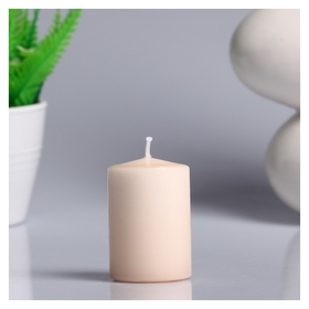 Свеча пеньковая ароматическая Пряное яблоко 4х6 см