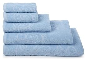 Полотенце махровое «Romance» цвет голубой, 70х130, 320 гр.