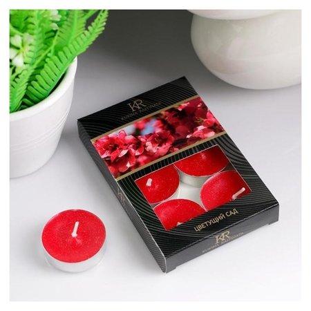 Набор чайных свечей ароматизированных Цветущий сад  NNB