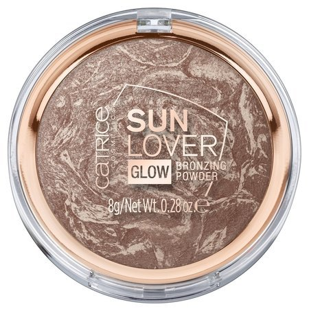 """Компактная пудра с эффектом загара """"Sun Lover Glow Bronzing Powder"""" 010  Catrice"""