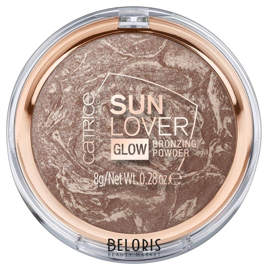 Купить Пудра для лица Catrice, Компактная пудра с эффектом загара Sun Lover Glow Bronzing Powder 010, Германия