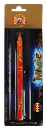 Карандаш с многоцветным грифелем Koh-i-noor 3405/01 Magic Original, 5,6мм, блистер  Koh-i-noor