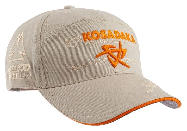 Бейсболка Kosadaka Smart Tackle, джинса, цвет бежевый  Kosadaka