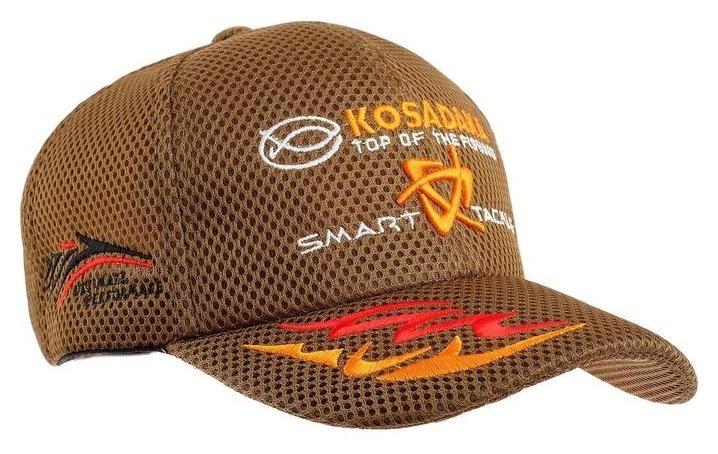 Бейсболка Kosadaka Smart Tackle, сетка, цвет олива