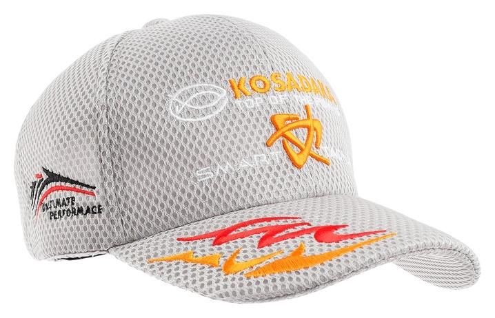 Бейсболка Kosadaka Smart Tackle, сетка, цвет серый  Kosadaka