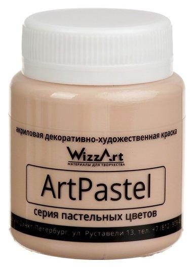 Краска акриловая Pastel 80 мл Wizzart сиена жженая пастельный Wa24.80  WizzArt