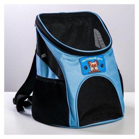 Рюкзак для переноски животных Лучший друг 31*23*30 см Пушистое счастье