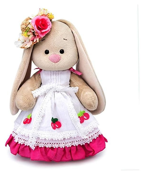Мягкая игрушка «Зайка Ми вишенка», 25 см  Зайка Ми