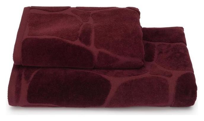 Полотенце махровое Arenaria пцс-2601-4479 цв.19-1725 50х90 см, бордовый, хл100%, 460г/м2  Cleanelly