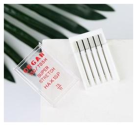 Иглы для бытовых швейных машин, для стрейч-ткани, №75/11, 5 шт  Organ