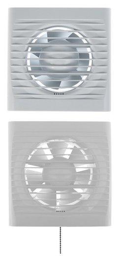Вентилятор вытяжной Auramax Optima 4-02, 150х150 мм, D=100 мм, 220‒240 В, с выключателем  AURAMAX