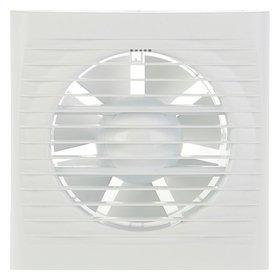 Вентилятор вытяжной Auramax Optima 5С, 175х175 мм, D=125 мм, 220‒240 В, с обратным клапаном