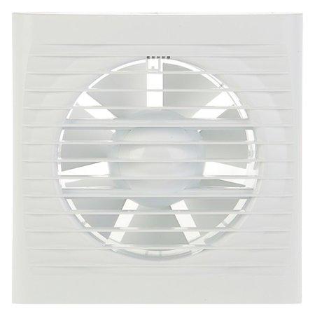 Вентилятор вытяжной Auramax Optima 5С, 175х175 мм, D=125 мм, 220‒240 В, с обратным клапаном  AURAMAX